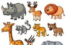 animals list
